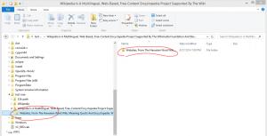 Windows Explorer can not handle long path
